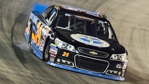 Scott Heckert No. 34 Project Lifesaver Chevrolet Preview: Iowa Speedway