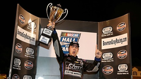 Scott Heckert Dominates at Bowman Gray Stadium, Leading Wire-to-Wire in Third-Career K&N Victory