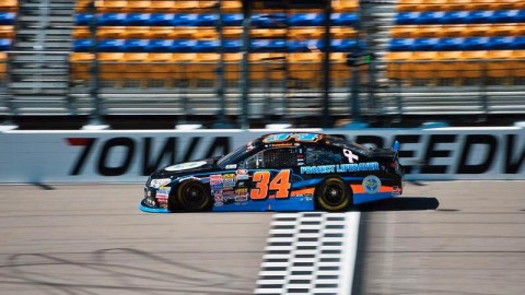 Scott Heckert Finishes Fifth in K&N Pro Series East at Iowa Speedway; Moves to Second in Points