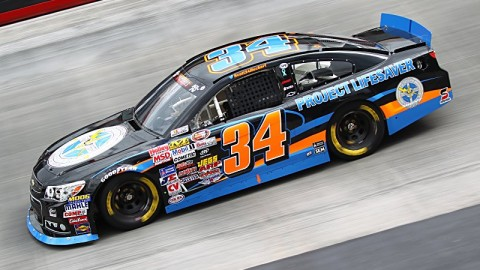 Scott Heckert Finishes Third at Bristol Motor Speedway