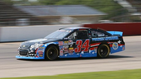 Cut Tire Spoils Heckert's Strong Run at Columbus