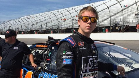 Scott Heckert Picks Up Second-Place Finish at New Hampshire Motor Speedway