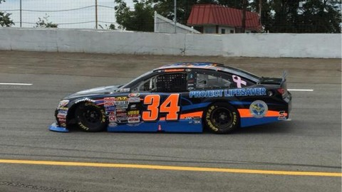 Fourth-Place Finish for Scott Heckert at Motordrome Speedway