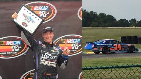 Scott Heckert Picks Up Second Pole of 2015 at VIR; Issue Late Ends Bid for Victory