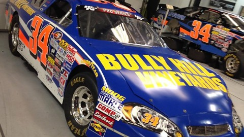 Bully Hill Vineyards Announces Primary Sponsorship with Scott Heckert for No. 34 at Watkins Glen